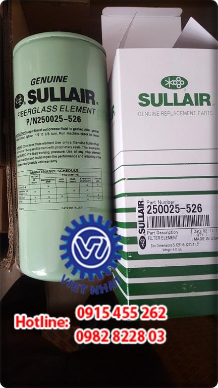 Lọc dầu Sullair P/N 250025-526